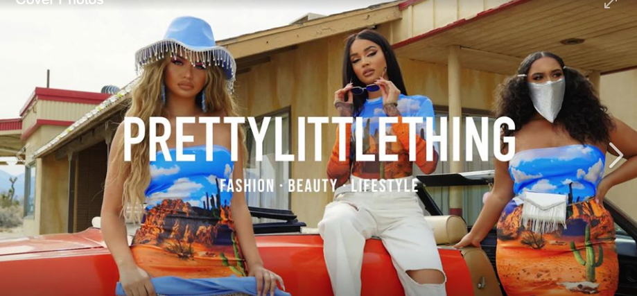 About PrettyLittleThing Homepage