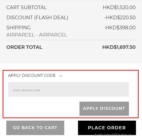 How do I use my Doughnut discount code?