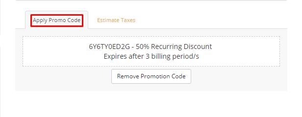 How do I use UKHost4U discount code?