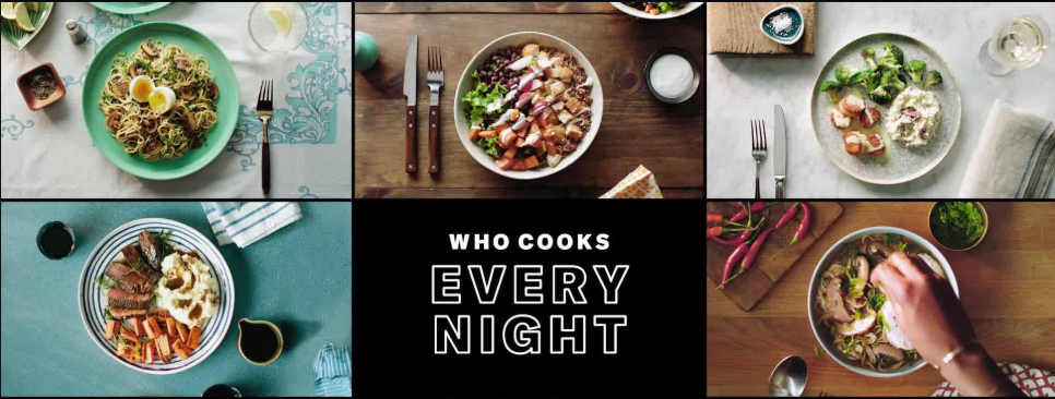 About Blue Apron homepage