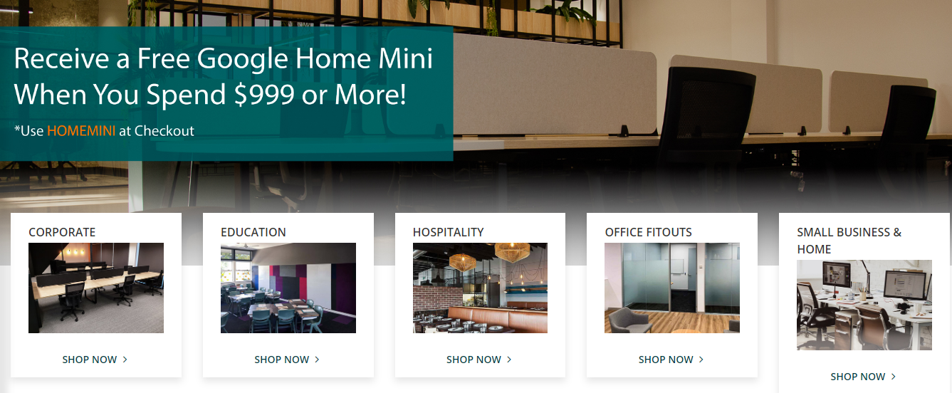 Epic Office Furniture Homepage