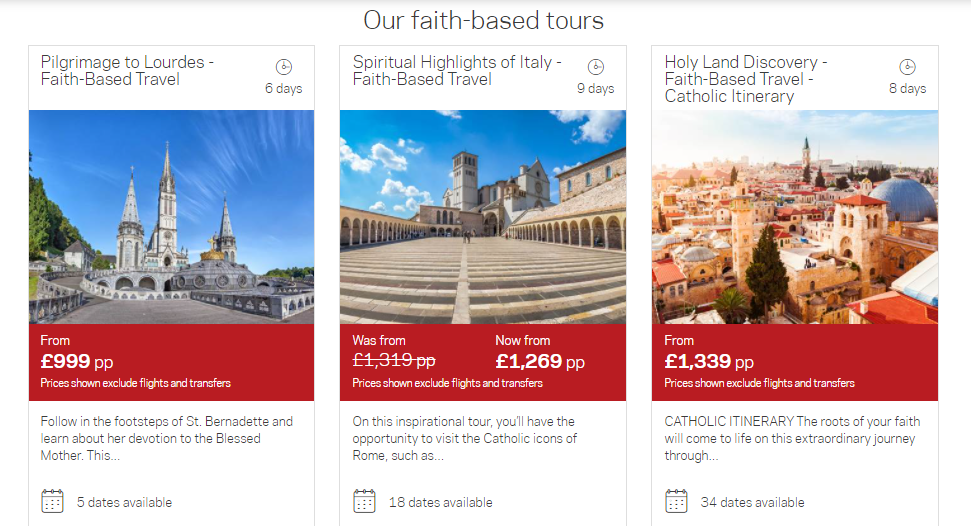 Faith-based Tours at Cosmos