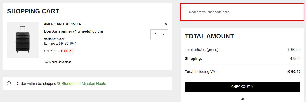 How do I use my Koffer.com coupon code?