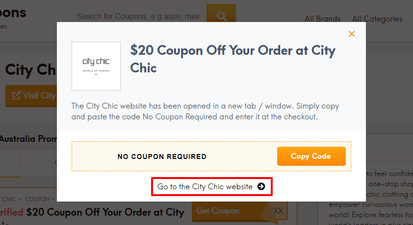 How do I use my City Chic discount code?