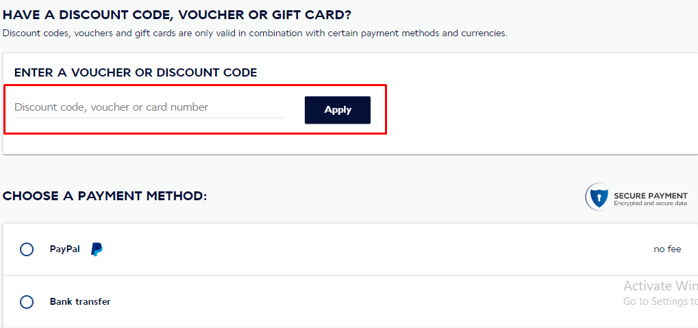 How do I use my Air France discount code?