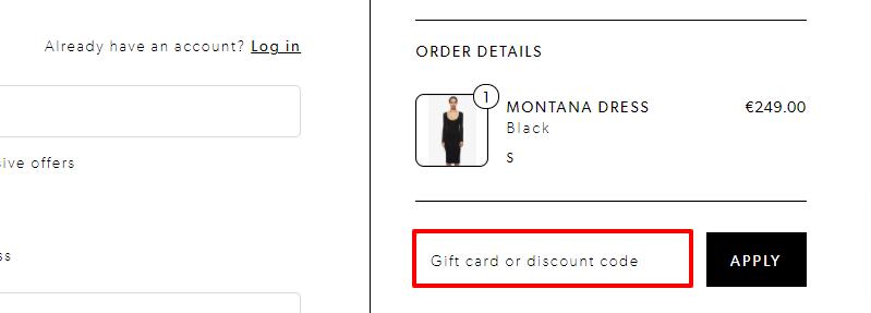 ANINE BING Discount Code IE