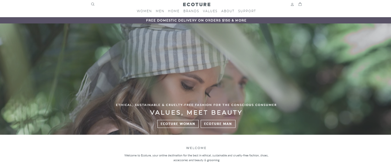 Ecoture Homepage