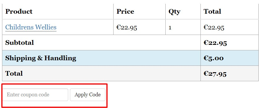 How do I use my Purchase.ie discount code?