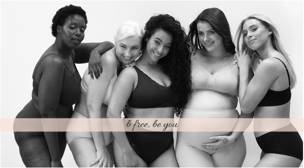 About B Free Intimate Apparel Homepage