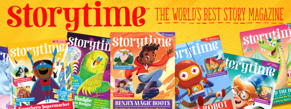 About Storytime Magazine Homepage