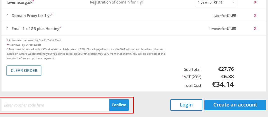How do I use my Register 365 discount code?