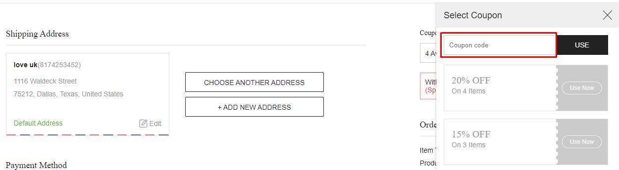 How do I use my ivrose coupon code?