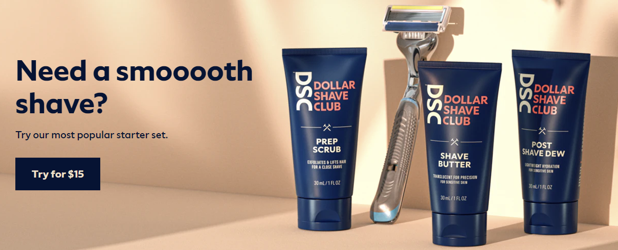 DollarShaveClub About Us