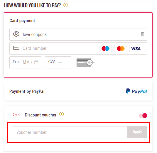 How do I use my Volotea discount voucher?