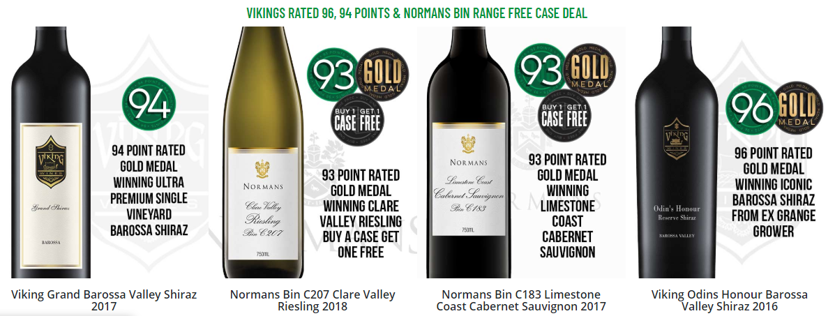 Popular Wines at Get Wines Direct