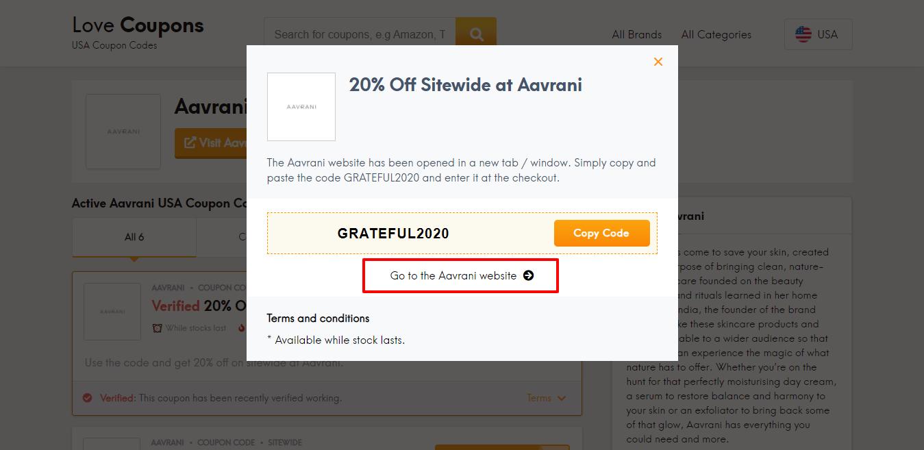 aavrani website
