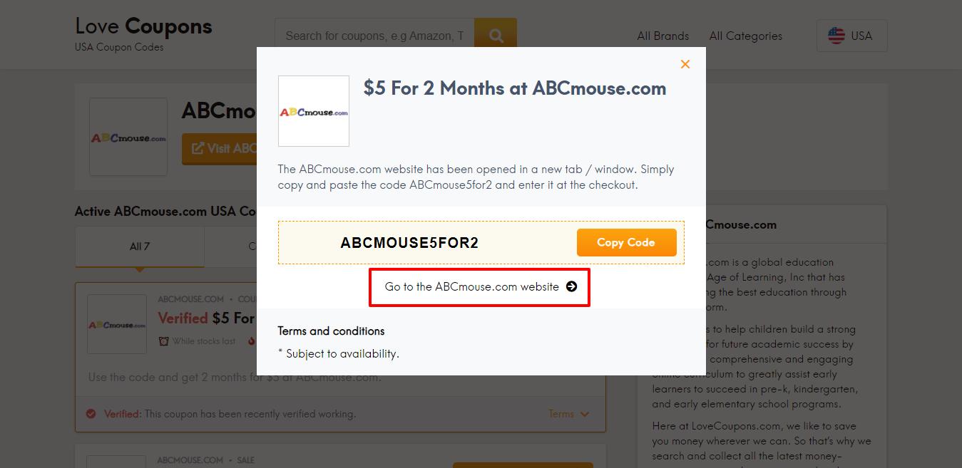 ABCmouse.com website