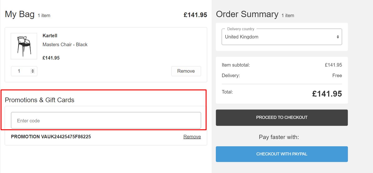 How do I use my Amara discount code?