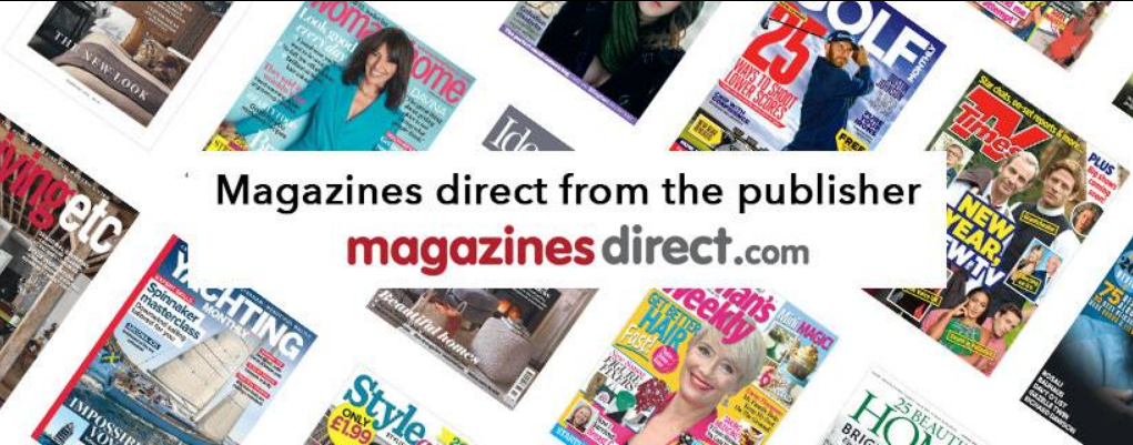 About Magazines Direct Homepage