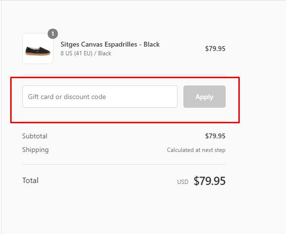 How do I use my Viscata discount code?