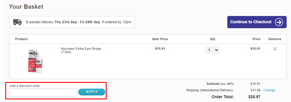 How do I use my Lenstore discount code?