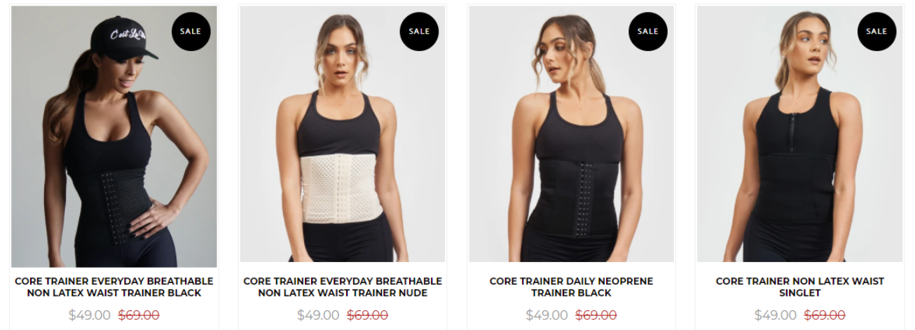 Core Trainer sales