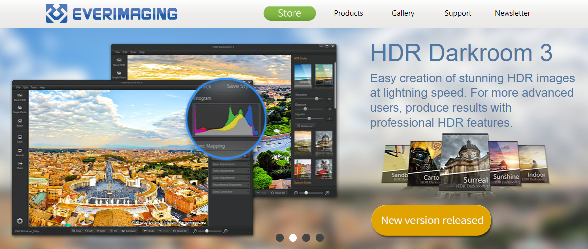 About Everimaging Homepage