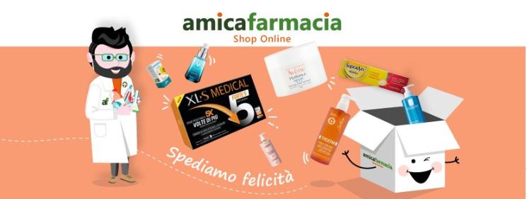 About Amicafarmacia homepage