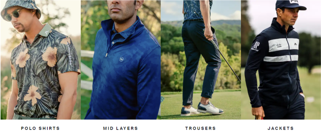 Trendy golf about us