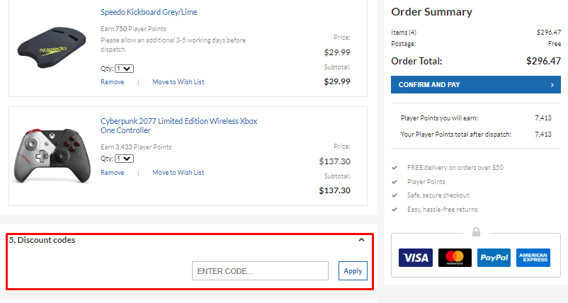 How do I use my OZGameShop coupon codes?