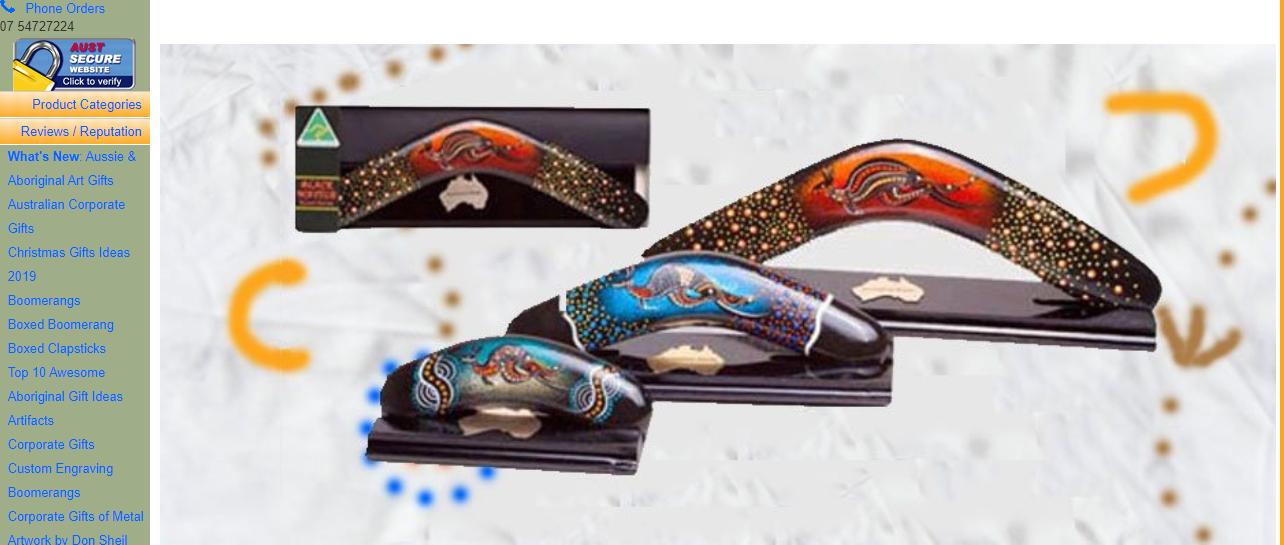 Australia Gift Shop Homepage