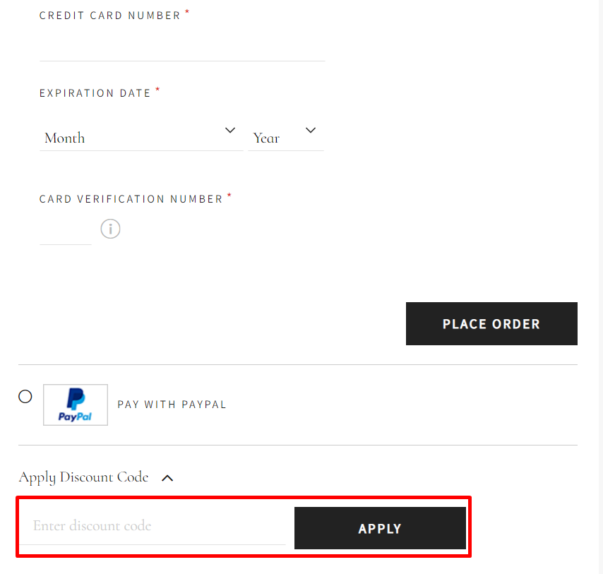 How Do I use my Fields discount code?