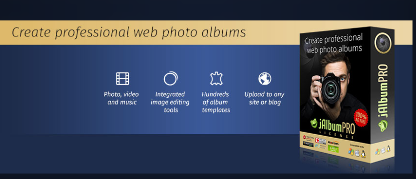 About jAlbum Homepage