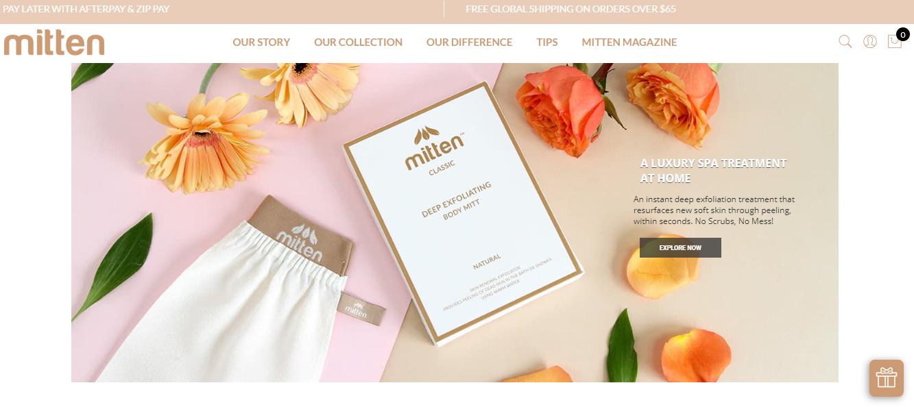 Mitten Homepage
