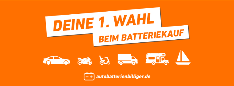 About autobatterienbilliger.de homepage