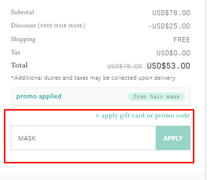 How do I use my Function of Beauty promo code?
