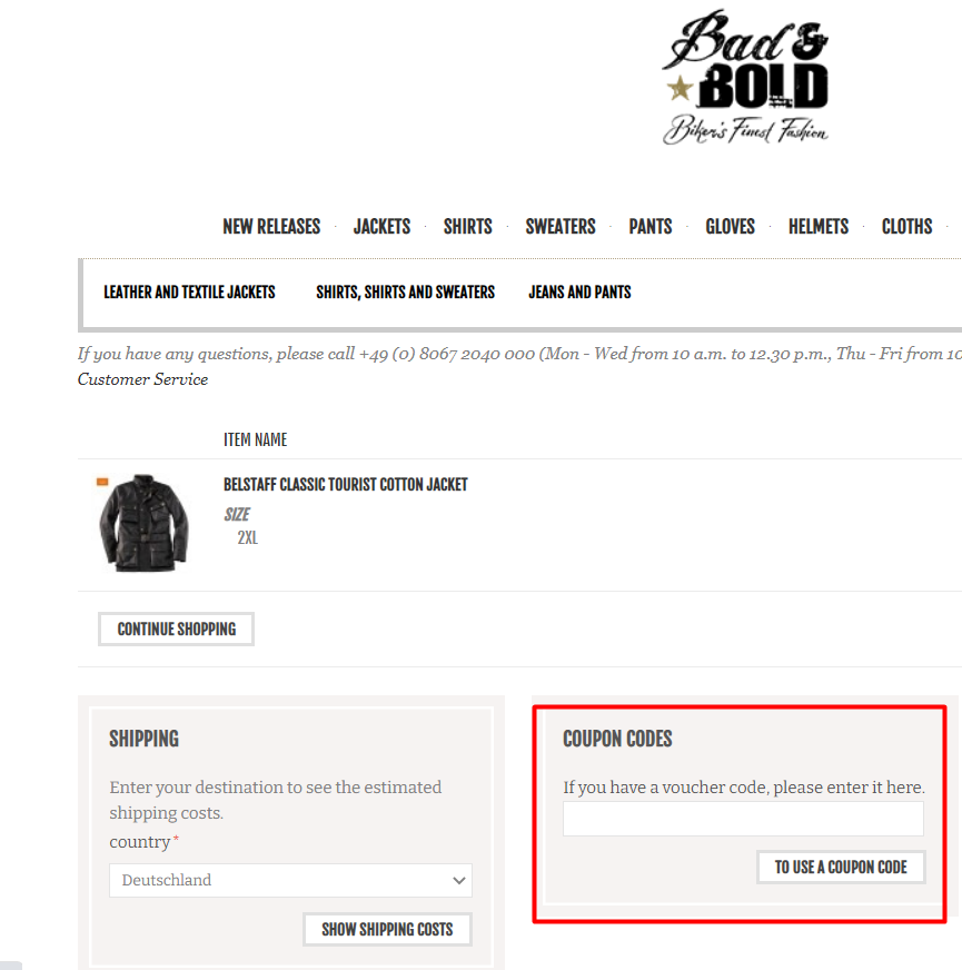 How do I use my Bad&Bold discount code?