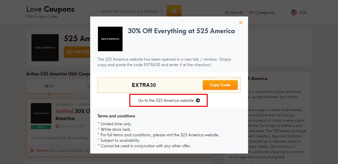 525 america website