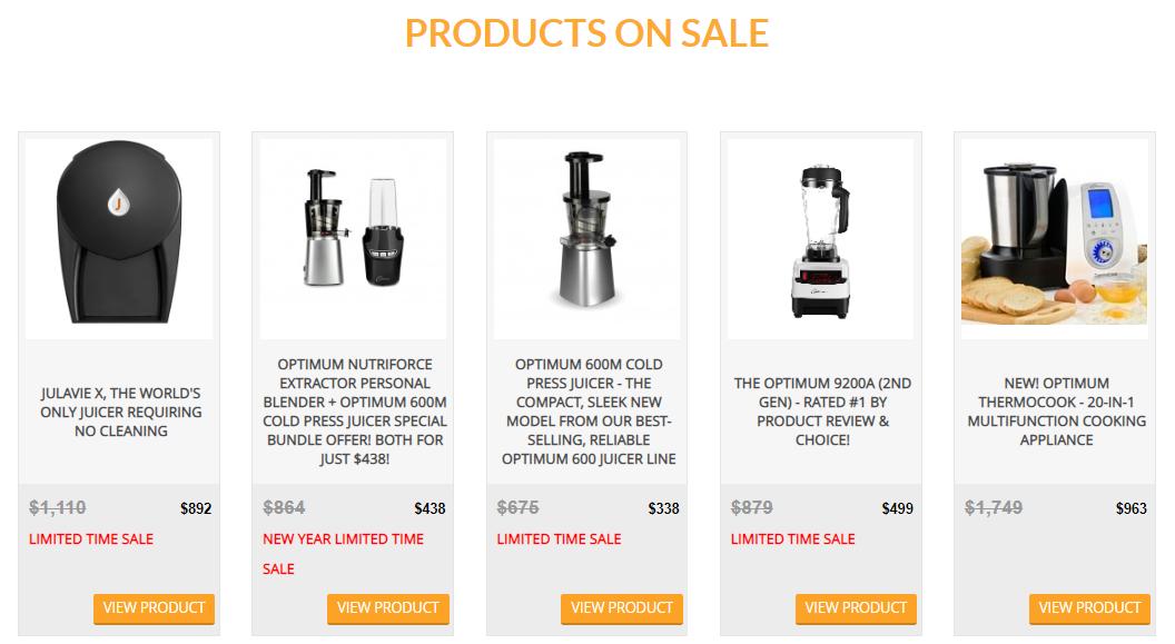 Froothie Sales