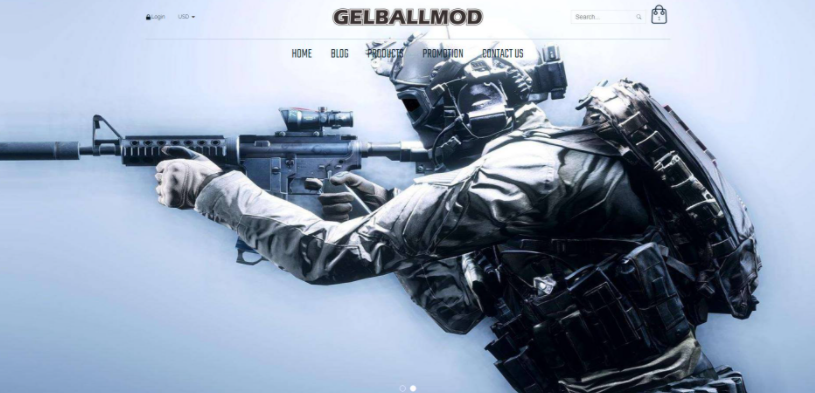About Gelballmod Homepage