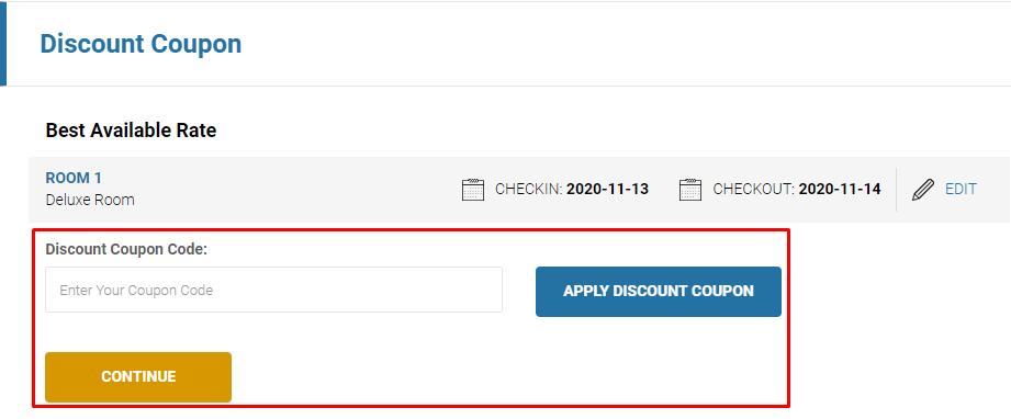 How do I use my Amara Hotels & Resorts discount code?