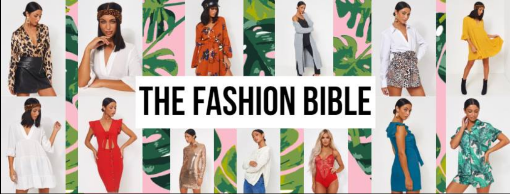 About The Fashion Bible Homepage