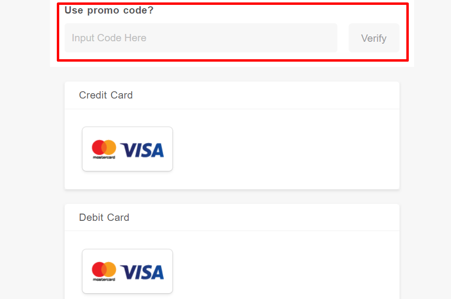 How do I use my Airpaz promo code?