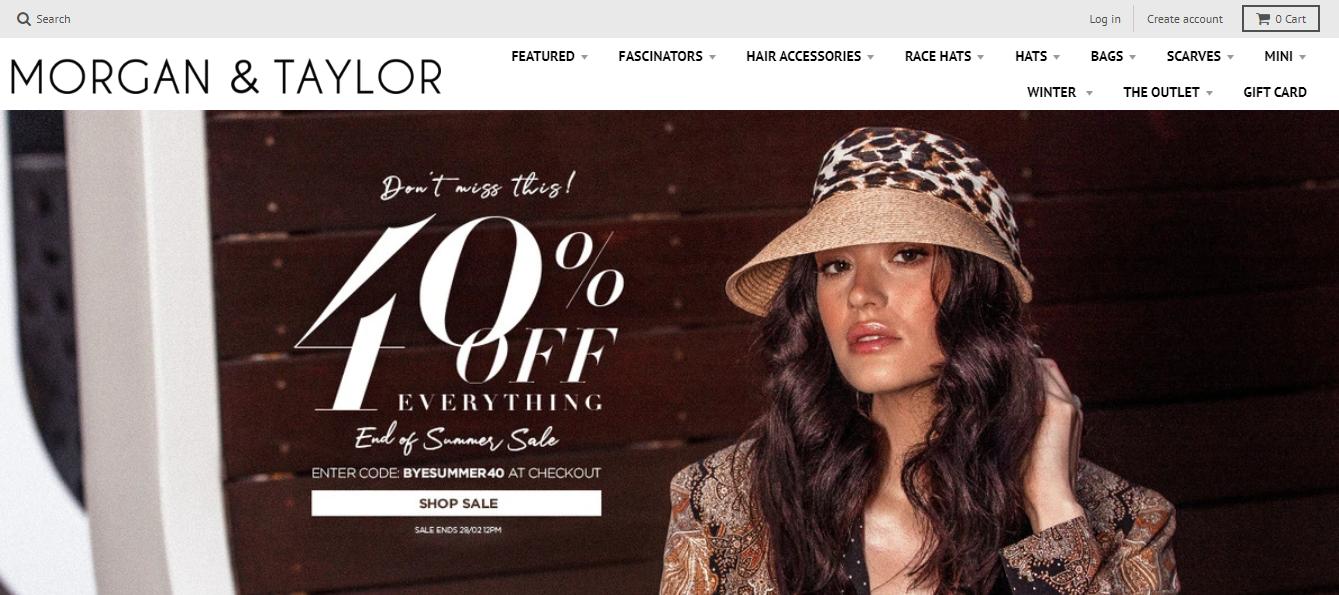 Morgan & Taylor Homepage
