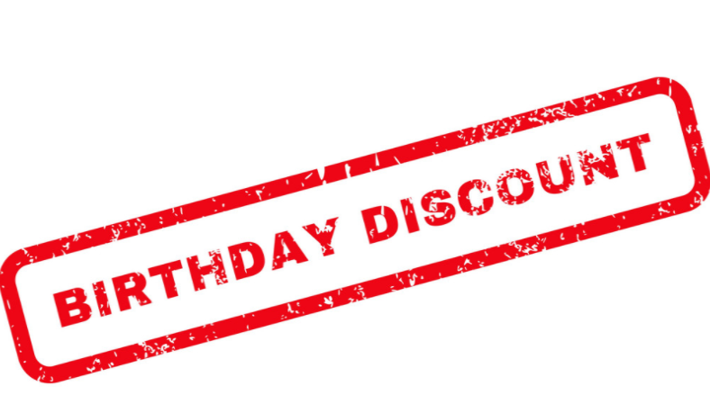 A Special Birthday Discount Voucher for YOU from gorman