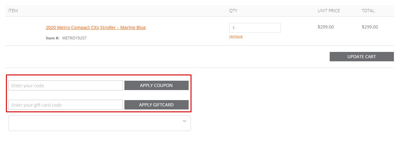 How do I use my Ergobaby coupon code?
