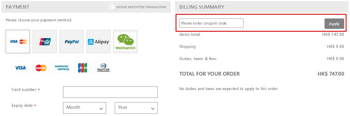 How do I use my Joseph Joseph coupon code?
