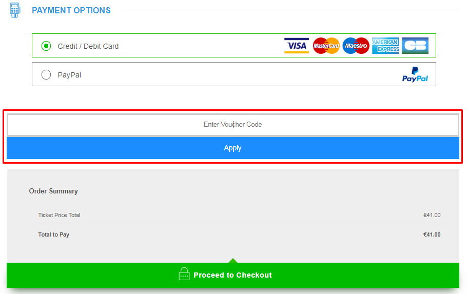 How Do I use my 365Tickets discount code?