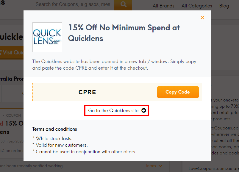 how to use Quicklens code?
