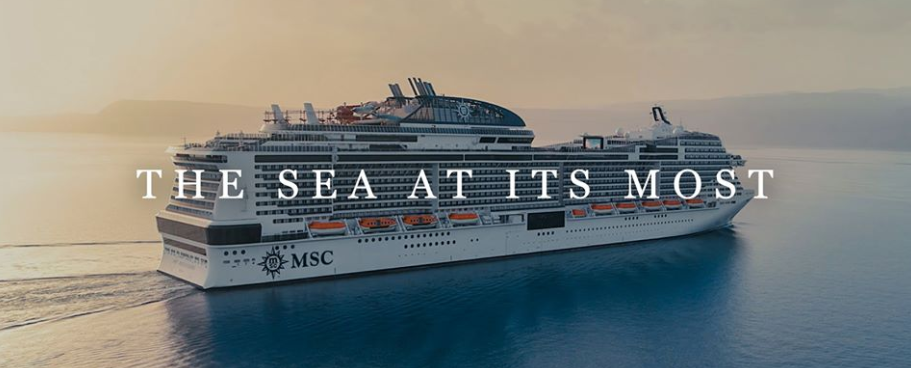 About MSC Cruises Homepage